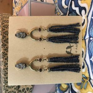 Chloe + Isabel Rebel Statement Tassel Earrings